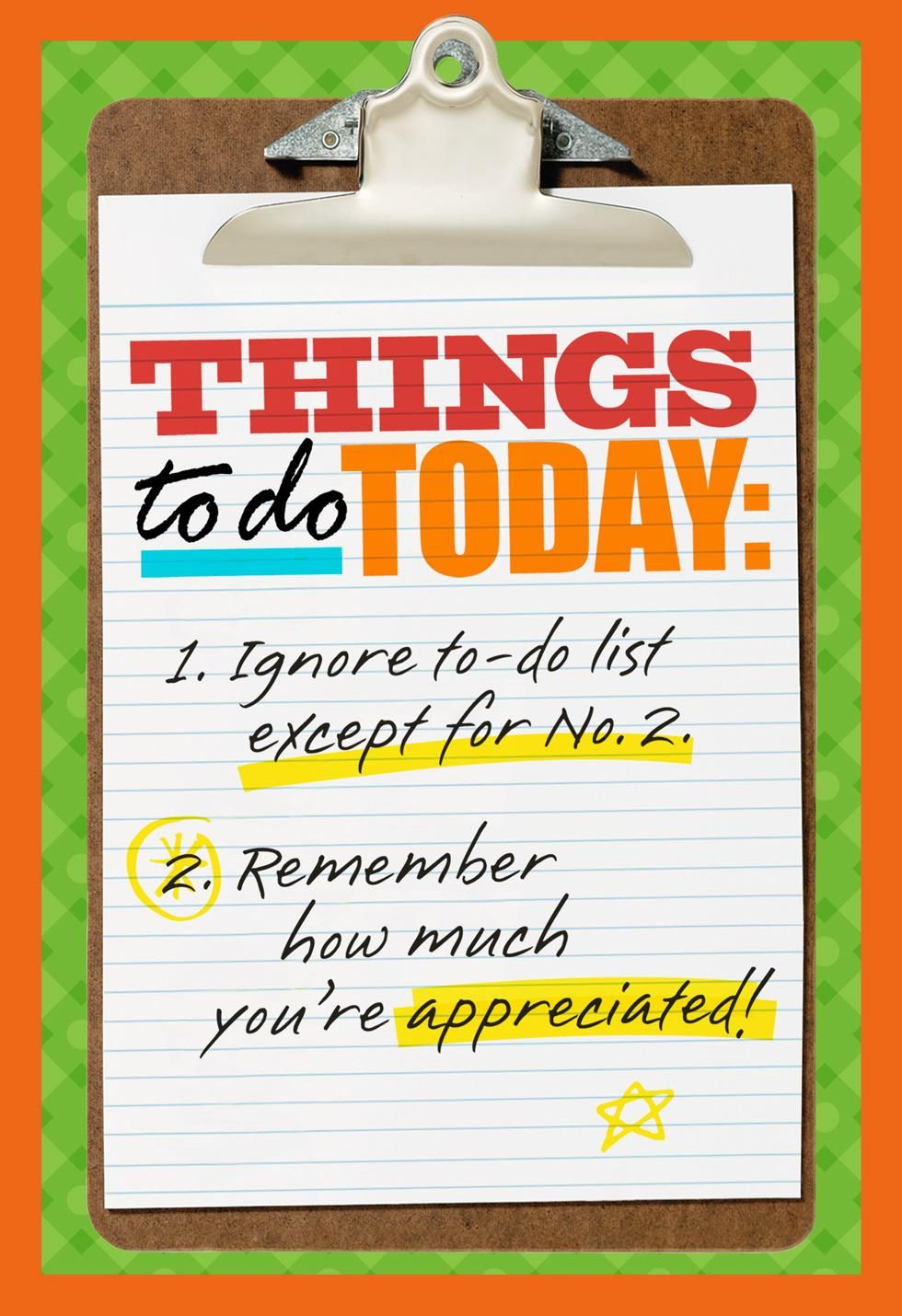 Clipboard Checklist Admin Professionals Day Card In 2021 Administrative Professional Day Secretary S Day Administrative Professional