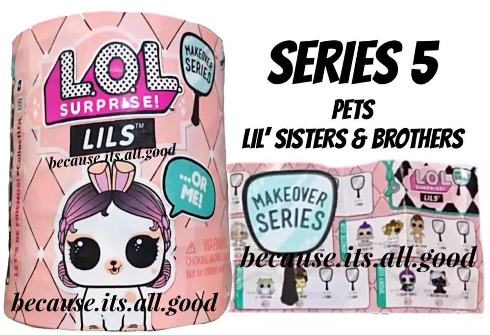 IN HAND 1 LOL Surprise Lils Lil Sisters OR Brothers OR Pets Makeover Series 5