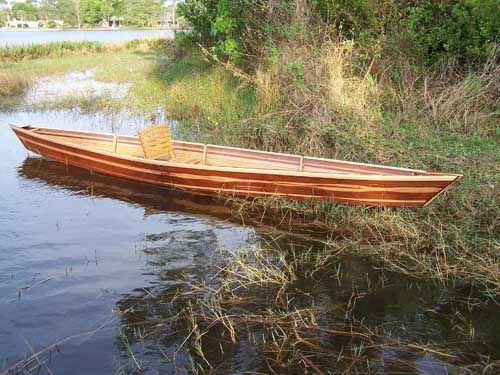 Strip built cedar pirogue | boat -- pirogue | Pinterest | Boating, Canoeing and Wooden boats
