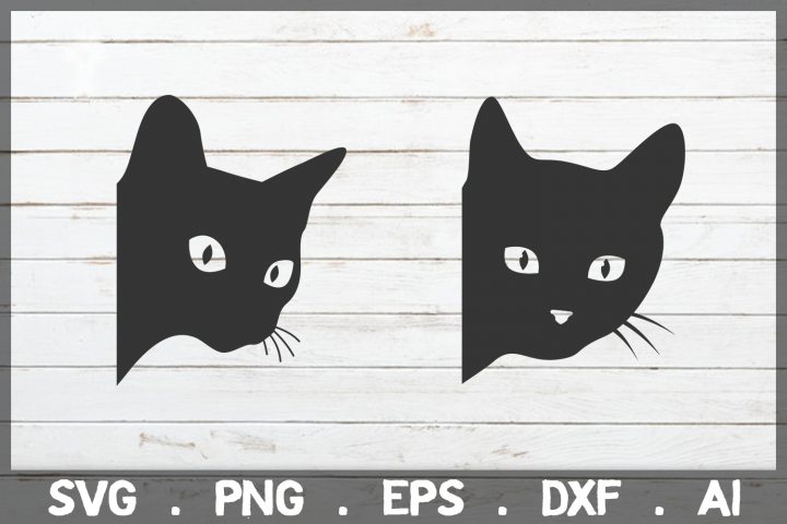 Sale Peeking Cat Svg Black Cat Svg Kitten Svg 388080 Svgs Design Bundles Peeking Cat Cat Silhouette Black Cat