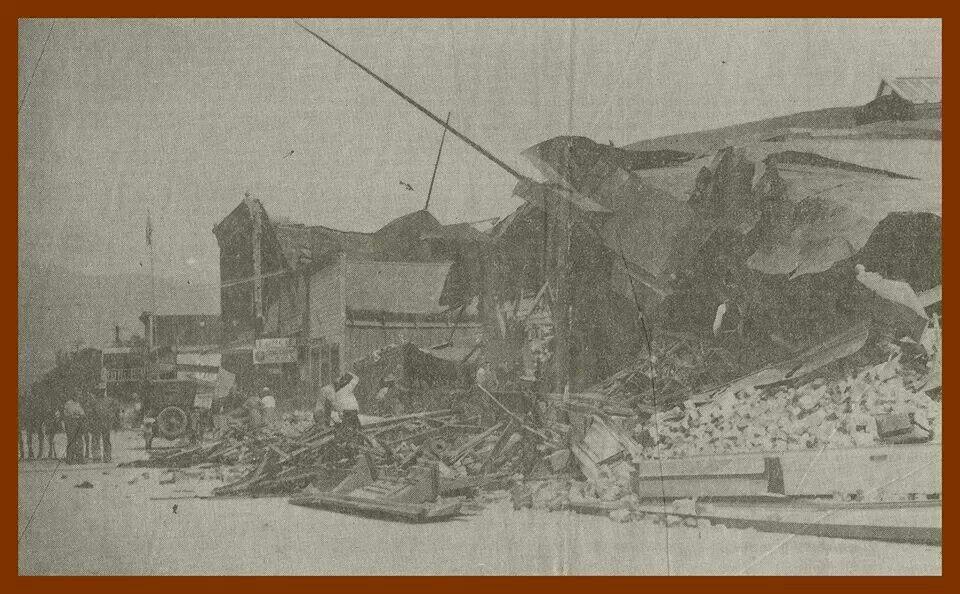 Earthquake San Jacinto Art Painting