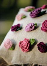 Landlust Rosen Häkeln Anleitung Häkelblumen Pinterest