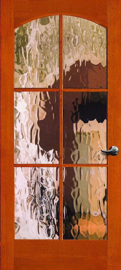 Simpson Interior French Door With Heavy Water Glass Glass Doors Interior French Doors Glass Front Door