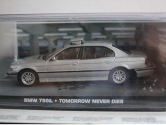 BMW 750i Diecast Model Car from James Bond Tomorrow Never Dies @ niftywarehouse.com #NiftyWarehouse #Nerd #Geek #Entertainment #TV #Products