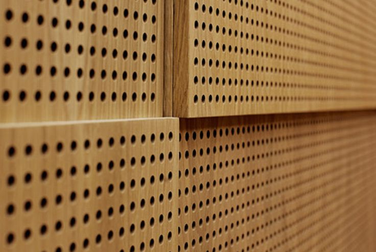Wooden Perforated Wall Panel Acoustic Panels Acoustic Room Treatment Acoustic