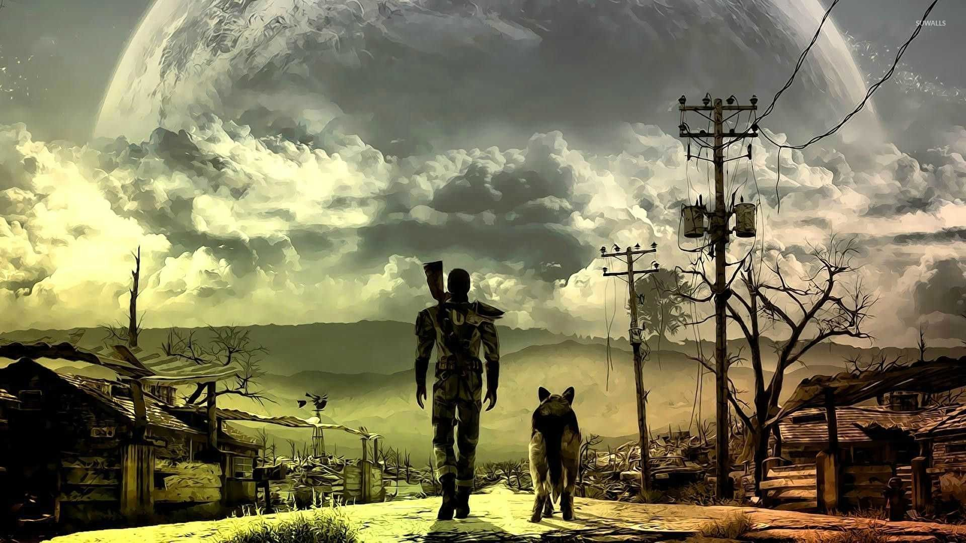 High Resolution Fallout Iphone Wallpaper Ipcwallpapers Fallout Wallpaper Fallout 3 Wallpaper Fallout Wallpapers