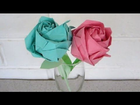 Origami rose instructions an easy step by step tutorial origami rose instructions an easy step by step tutorial ezycraft youtube mightylinksfo Choice Image