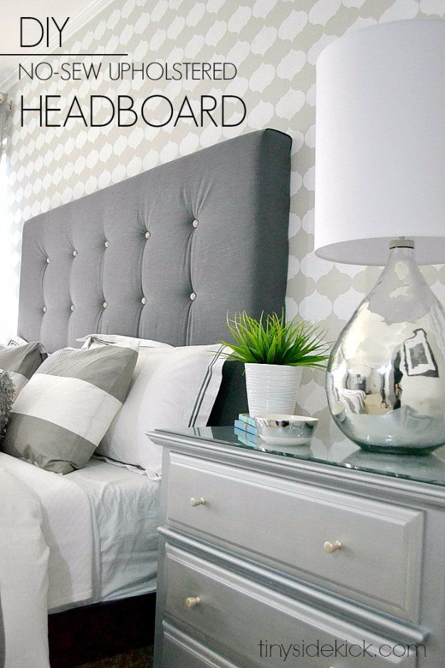 31 fabulous diy headboard ideas for your bedroom diy upholstered 31 fabulous diy headboard ideas for your bedroom solutioingenieria Image collections