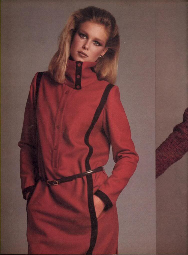 Guy Laroche US Vogue October 1980 Model: Nancy Donahue