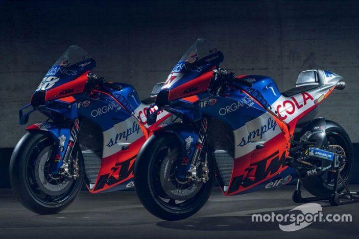 Ktm Tech 3 Unveil 2020 Motogp Liveries Red Bull Ktm Racing Bikes Motogp