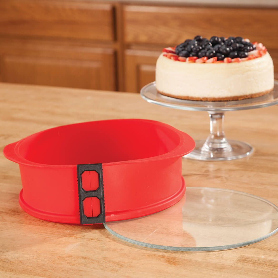 Bake cool and serve with one welldesigned silicone