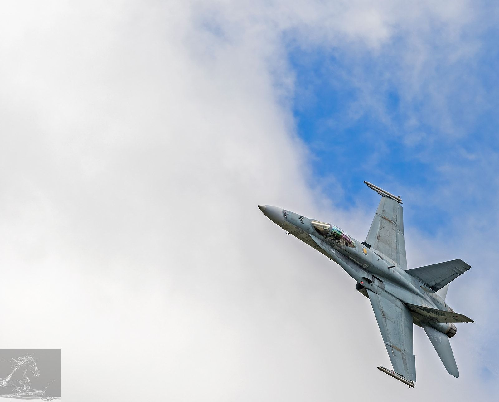 RNZAF Air Tattoo 2017 09 - Seen in this image is a F/A-18 Hornet of the Royal Australian Air Force (RAAF) - taken at the 80th Anniversary RNZAF Air Tattoo held at the Ohakea Air Force Base, NZ…