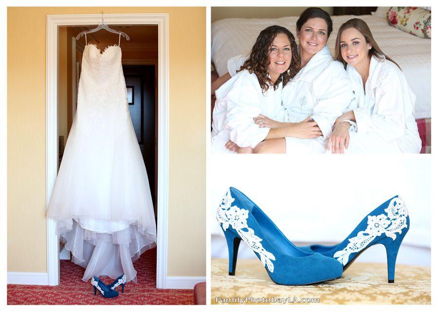 White Wedding Dress Blue Shoes - Gommap Blog