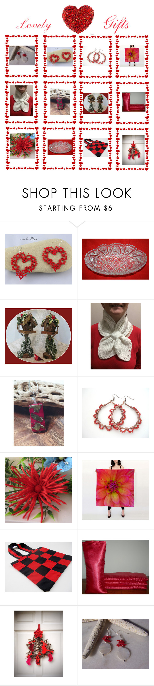 """""""Love-ly"""" by therusticpelican ❤ liked on Polyvore featuring Hostess, modern, contemporary, rustic and vintage"""