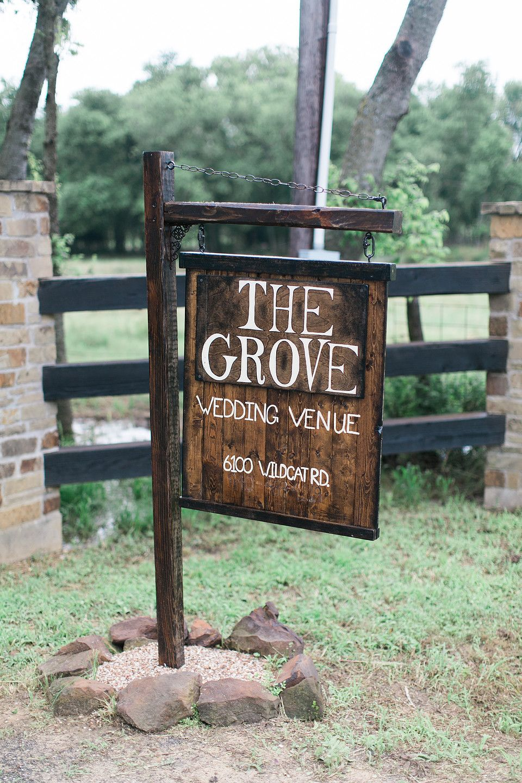 The Grove Wedding Venue Aubrey Texas THE GROVE Wedding