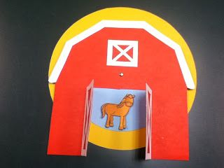 Storytime ABC's: Not a Flannel Friday: Big Red Barn