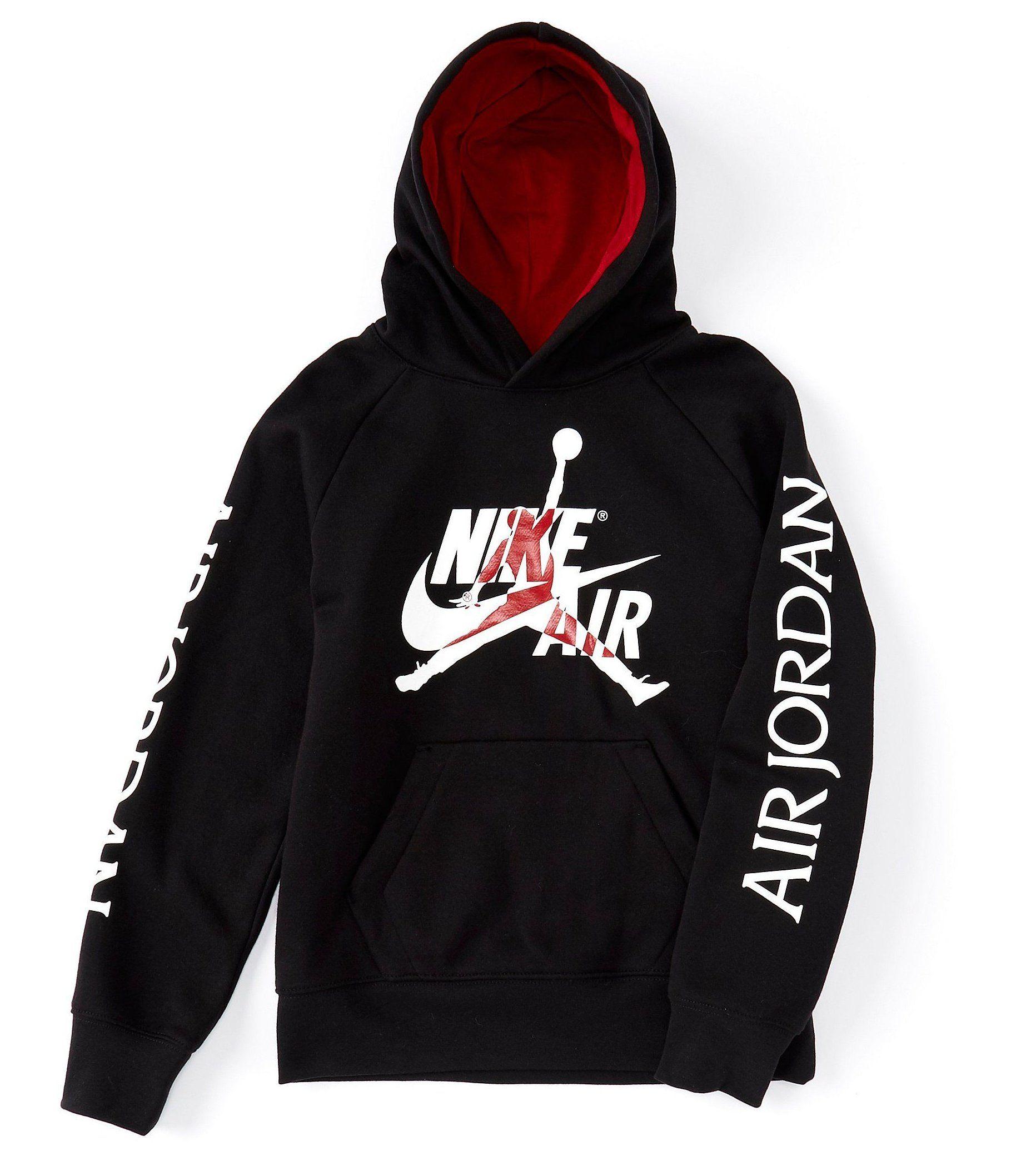 Black And Red Jordan Sweatshirt
