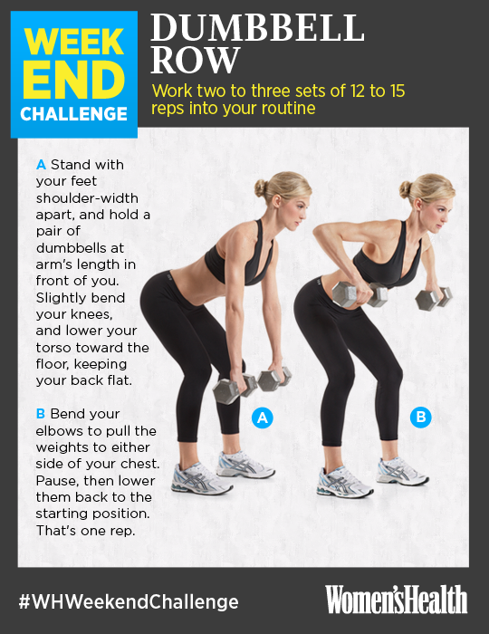 Weekend Challenge Are You In Health Magazine Health Weekend Workout