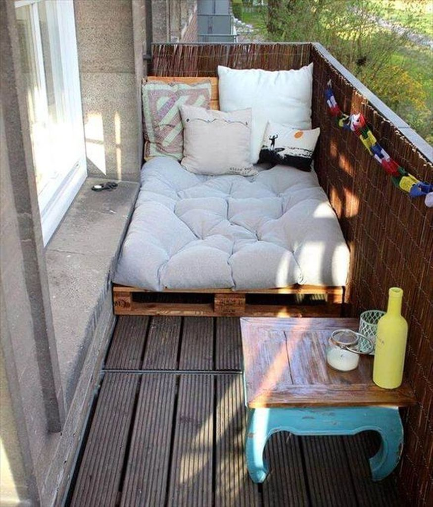 30 Small Apartment Balcony Decoration to Make it M