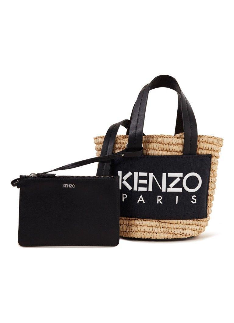 a716654bf70 KENZO Small Summer handtas met uitneembare etui • de Bijenkorf #designer  #accessoires | damesmode