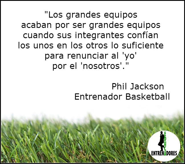 Frase Phil Jackson Entrenador Basketball Www