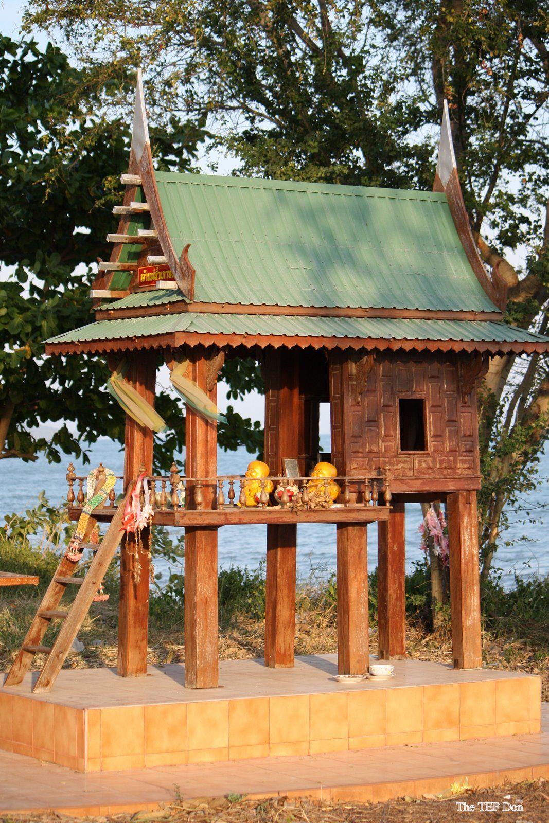 Thai Spirit House Just Back Wish I Had Taken More Spirit