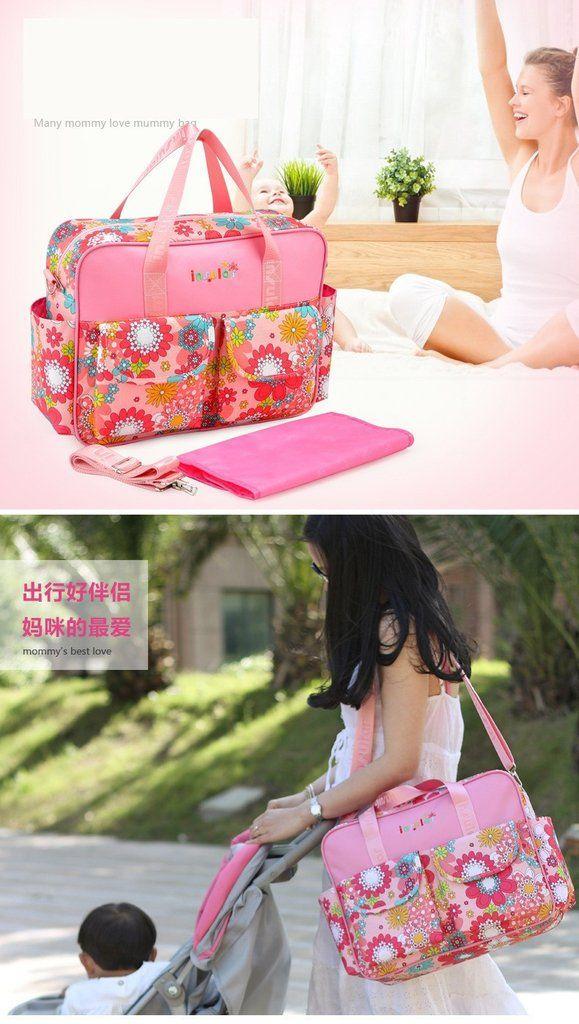 MultiColor Diaper Bag