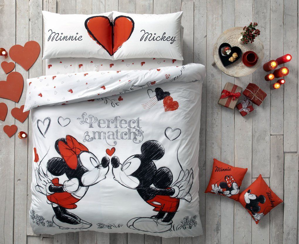 Mickey Mouse Bettwäsche Disney Discovery Mickey Perfect Match Bedding Disney Decor