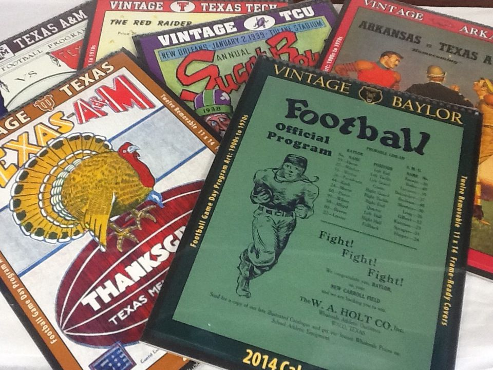 Asgard Press vintage collegiate calendars for2014Baylor