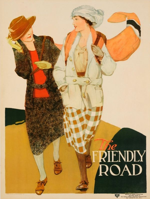 YWCA The Friendly Road Willcox USA / 1920s / Advertising Posters ...