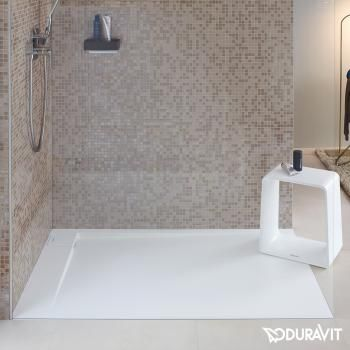 Duravit P3 Comforts Rechteck Duschwanne, Ecke links | walk in ... | {Duschwanne 67}