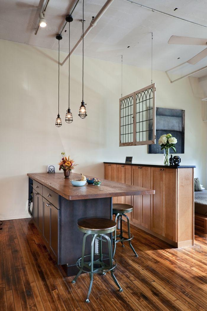 küchenlampen kücheninsel pendelleuchten industrieller stil Küche - pendelleuchte für küche