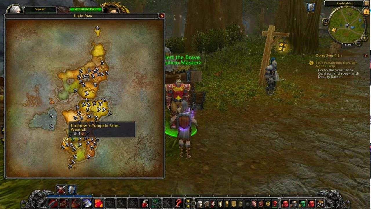 Westbrook Garrison Needs Help World Of Warcraft Quest Humans