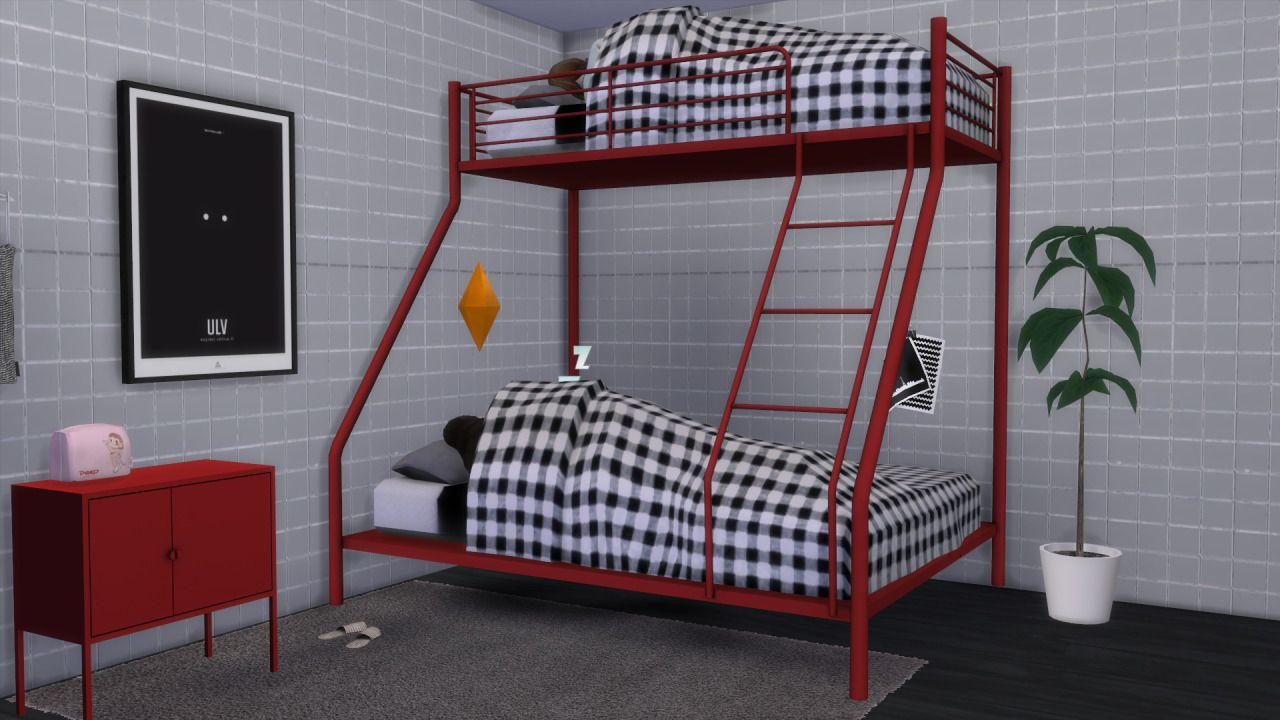 76 Trends For Toddler Bunk Beds Sims 4 - My Home Decor