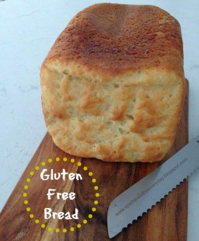 Gluten Free Bread Made In A Bread Machine