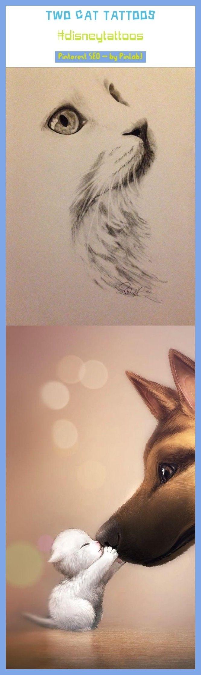 Photo of #deux #cat # tatouages deux tatouages de chat #disneytattoos # tendance. tatouages de chat petit, …