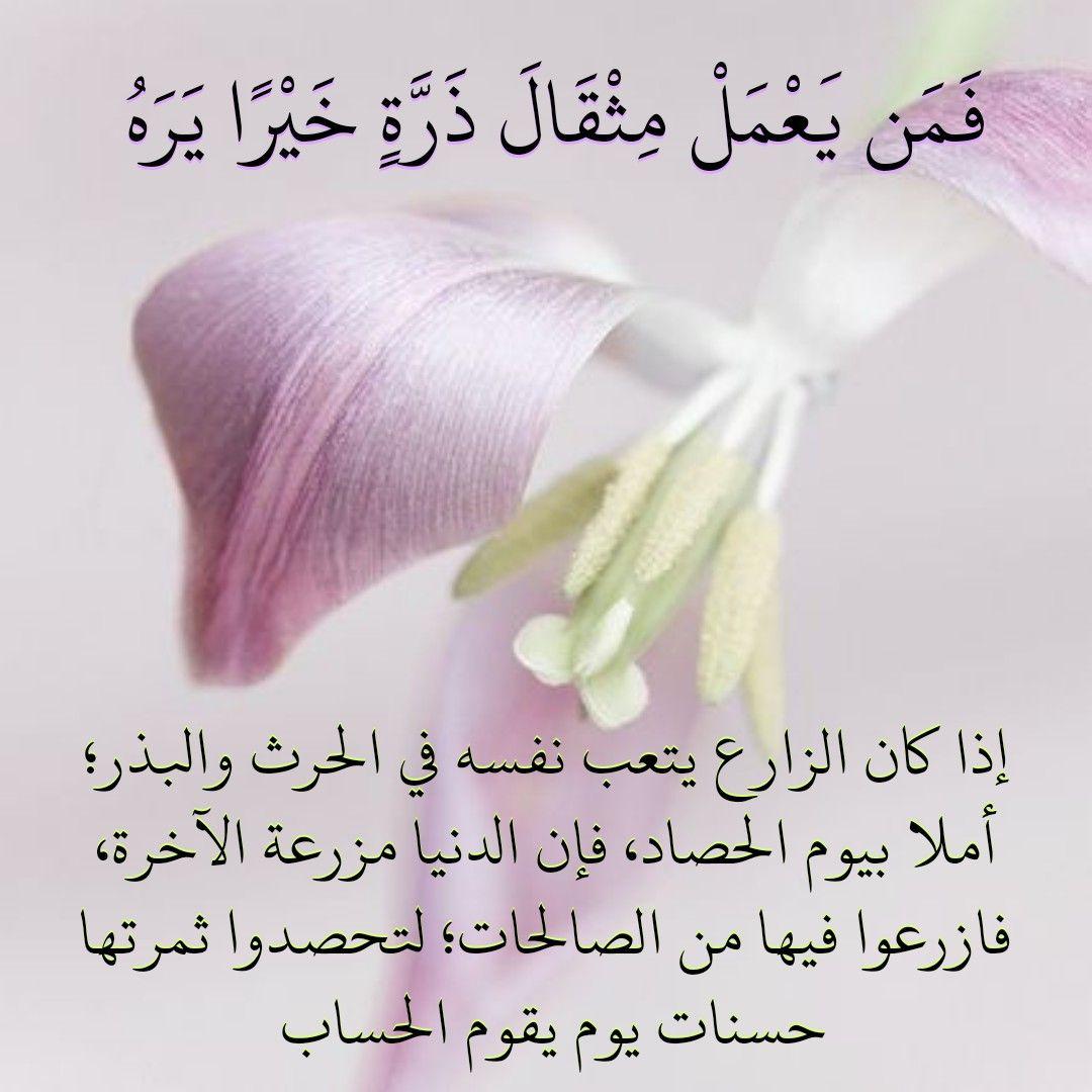 قرآن كريم آية فمن يعمل مثقال ذره خيرا يره Band Quran Accessories