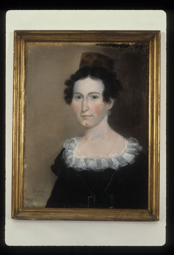 Mary Sparrow, 1826 by William M.S. Doyle.  Historic New England