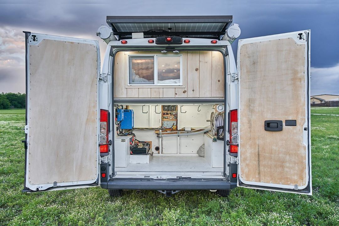Dodge ProMaster Conversions Campervan, Build a camper