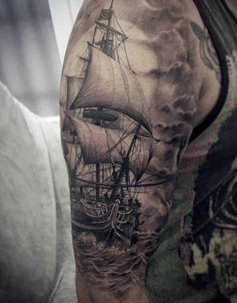pingl par shane sur tattoo ideas pinterest bateaux. Black Bedroom Furniture Sets. Home Design Ideas