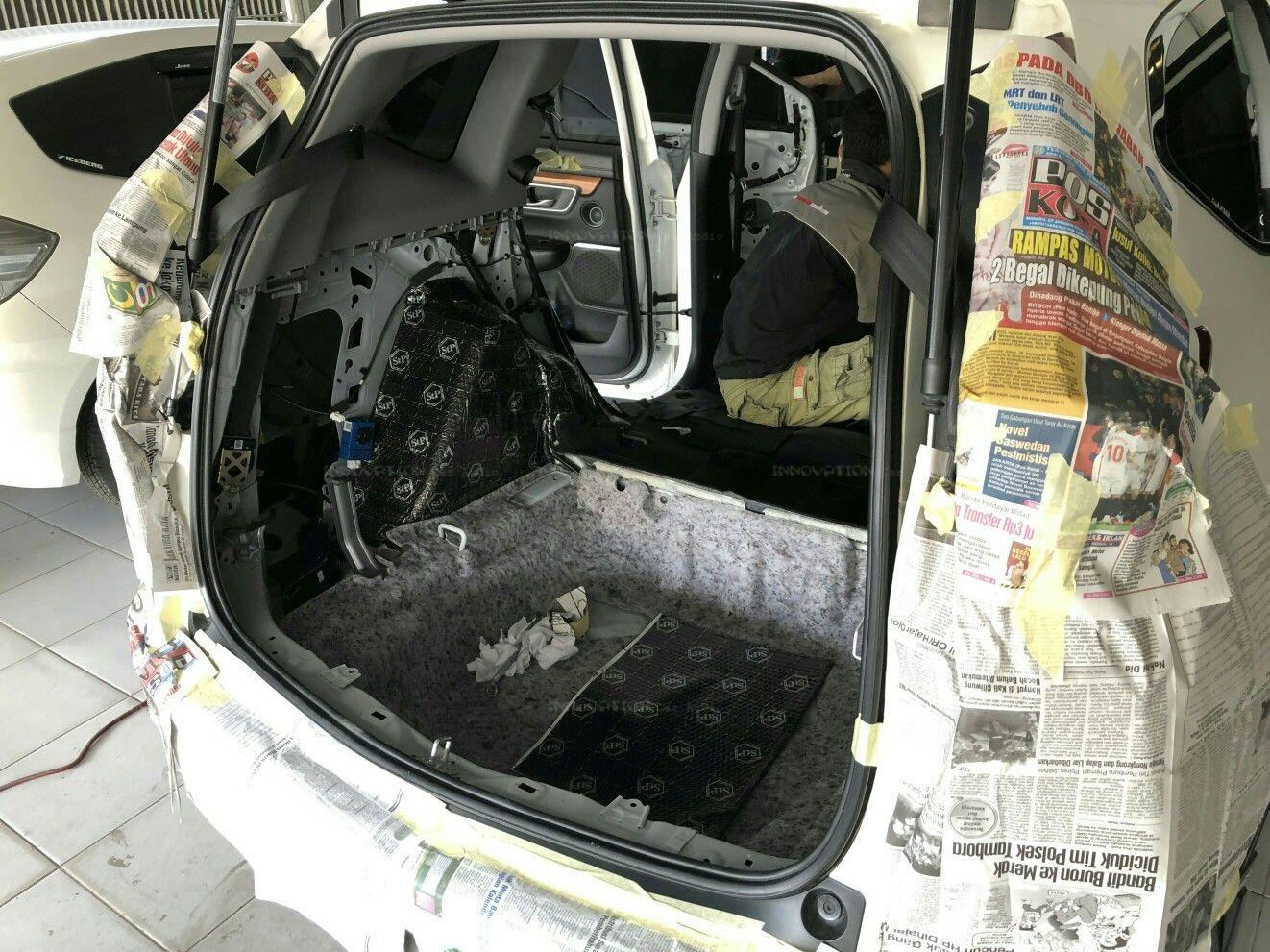 Paket Peredam Crv Turbo Mobil Produk Audio