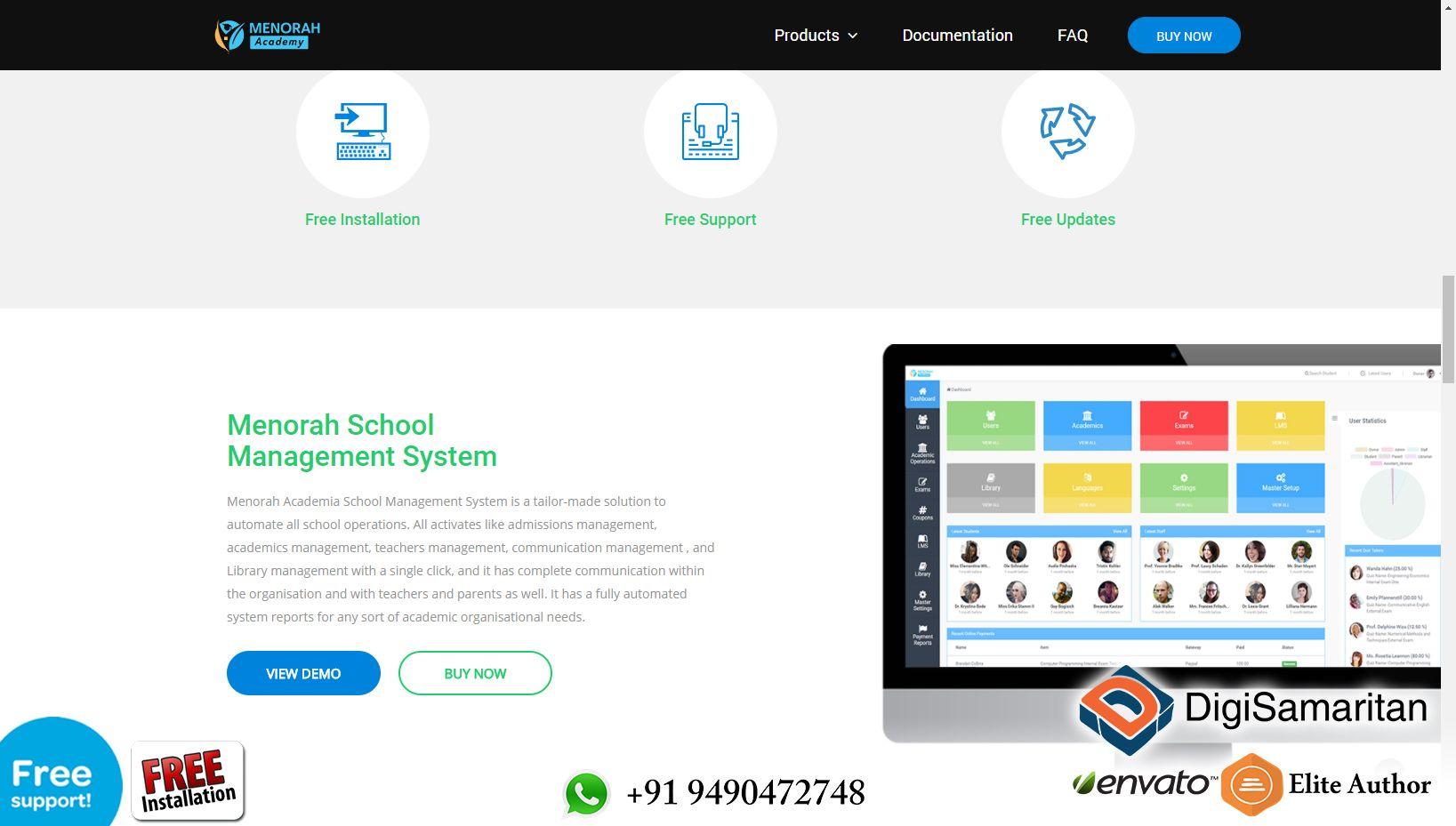 The Next Gen School Management Software - Menorah Academy