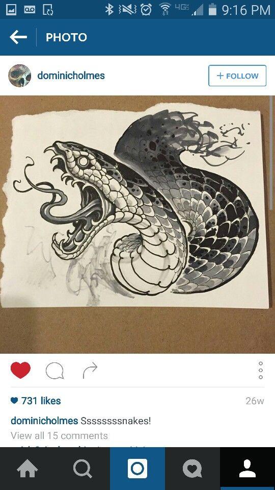 Pin von stefanie kienbink auf ink needles tattoo vorlagen schlangen und malerei - Vorlagen malerei ...