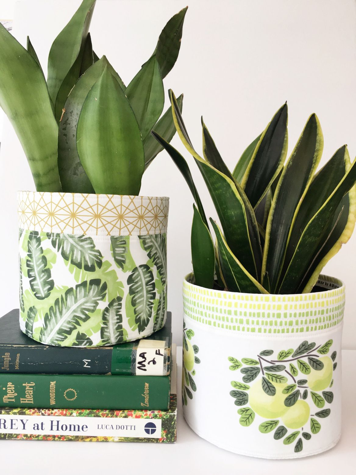 DIY Fabric Planter Diy sewing projects, Diy grow bags