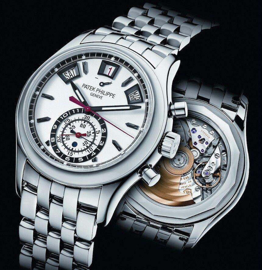Patek Philippe Chronograph Annual Calendar 5960/1A Watch In Steel