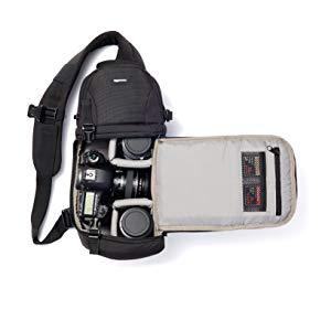 Amazon.com : AmazonBasics Camera Sling Bag – 8 x 6 x 15 Inches, Black : Camera & Photo