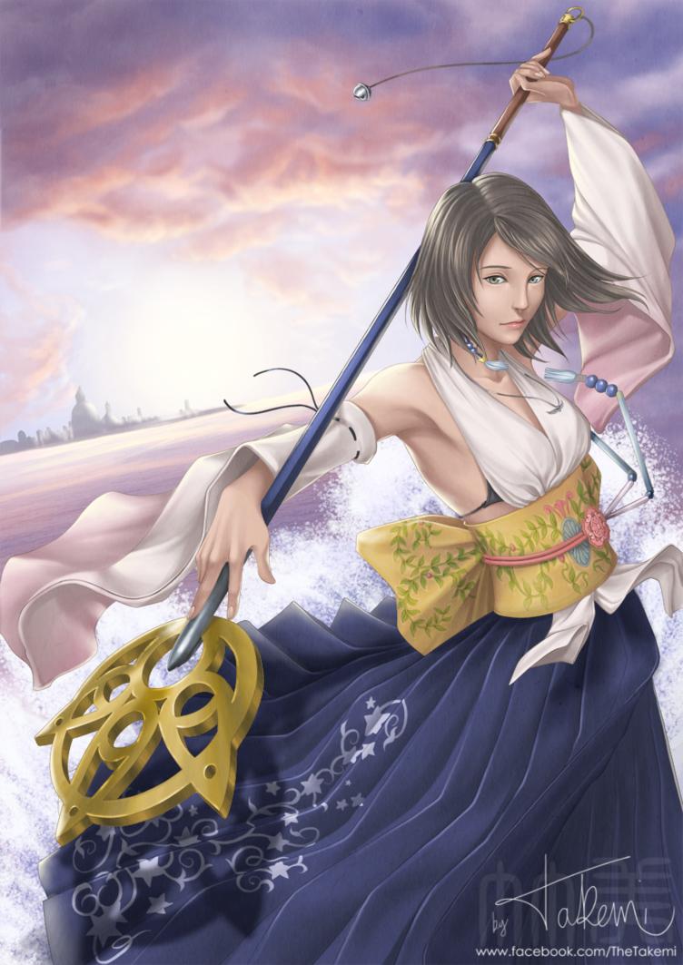 x yuna fantasy Final