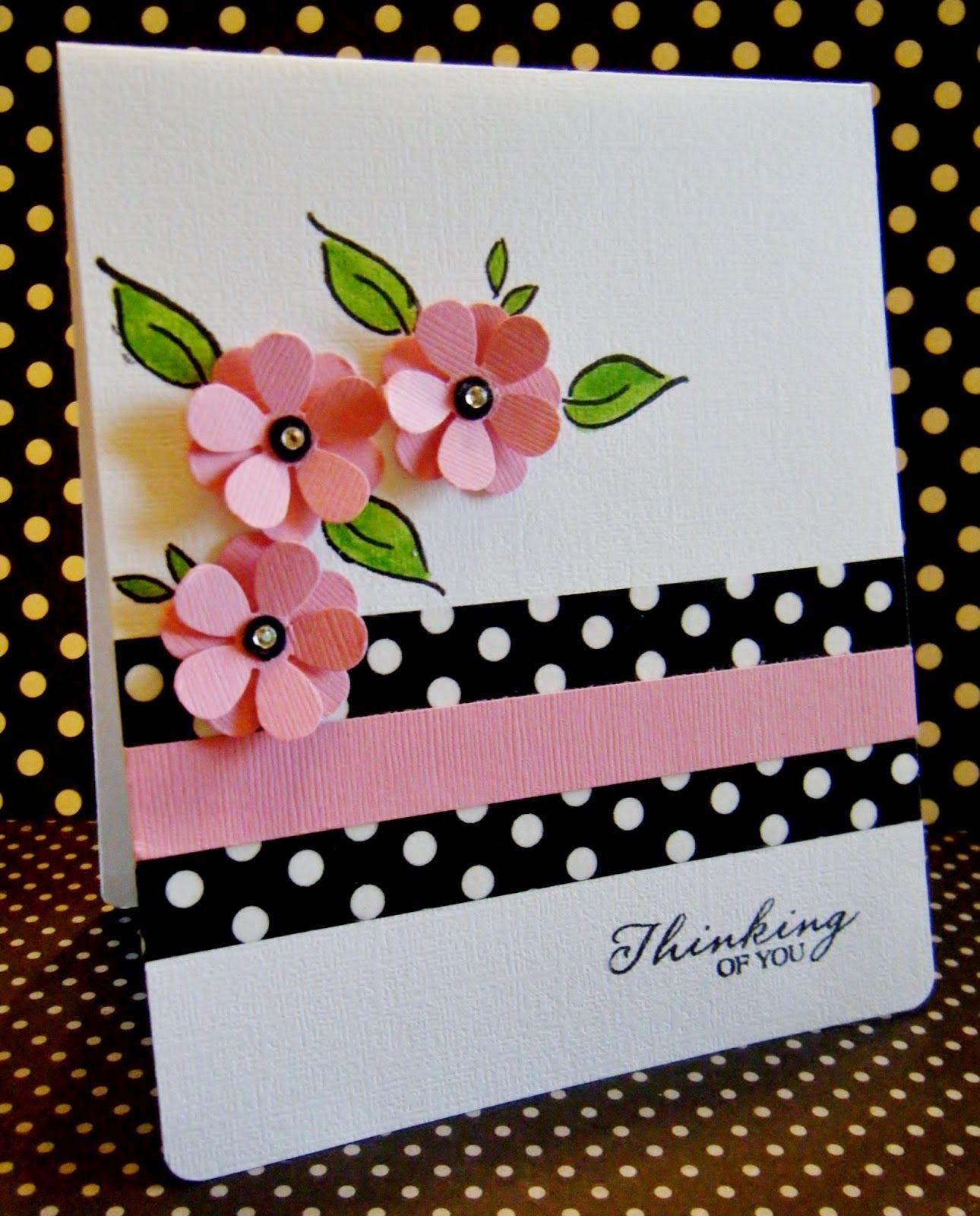 Punch Retro Flower Ek Success Google Search Greeting Cards