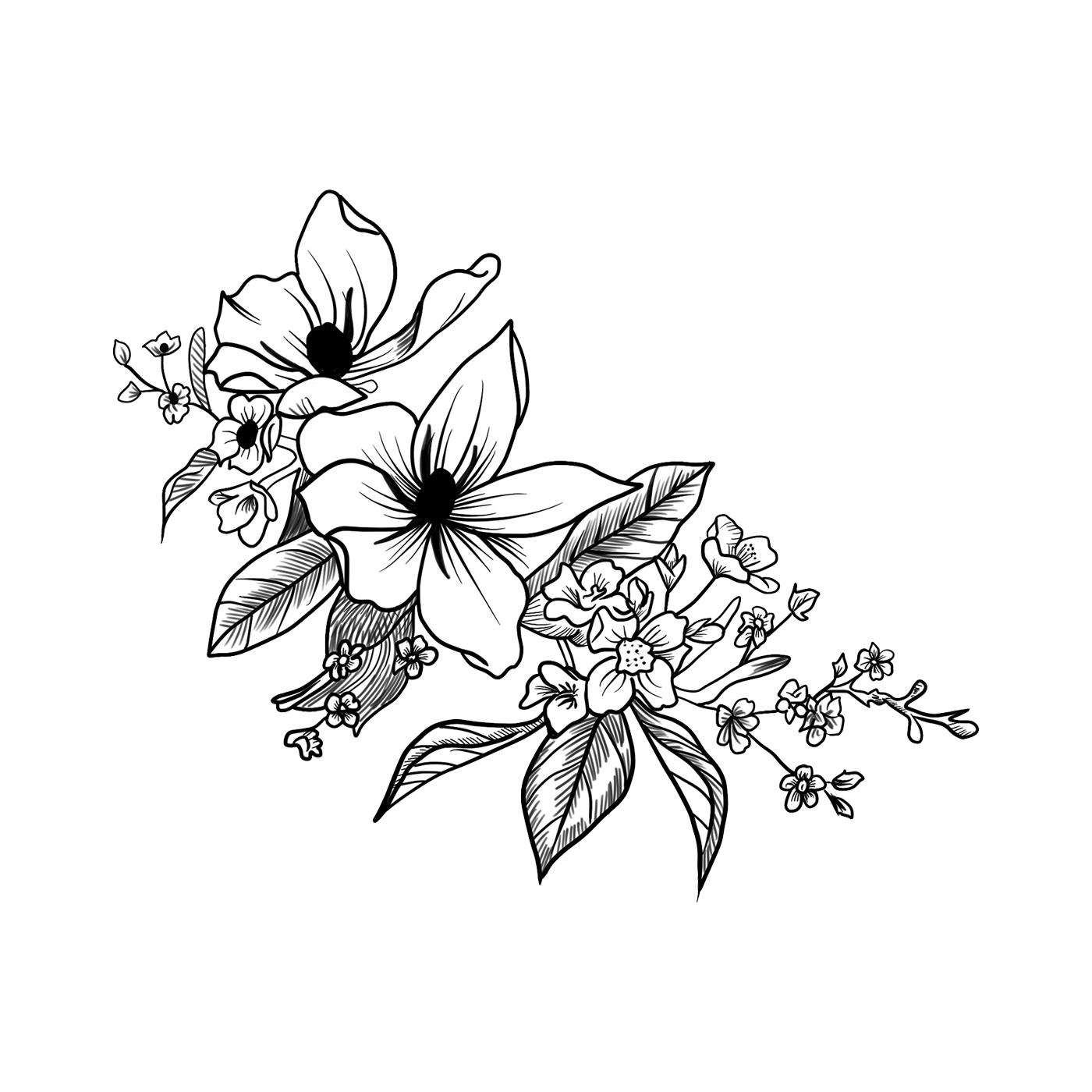 Bleached daffodil