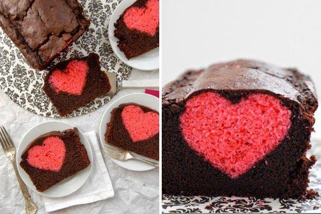 Kέικ για την μέρα του Αγίου Βαλεντίνου.  #Γλυκά